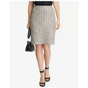Calvin Klein Tweed Pencil Skirt Size 4